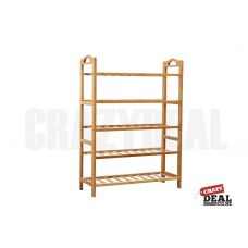 Description:  * Its bamboo natural design matches easily with most home designs. * Stylish design * Easy to assemble