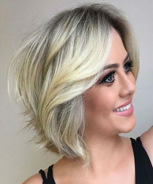 Sophisticated Short Balayage Rooted Blonde Hairstyles For