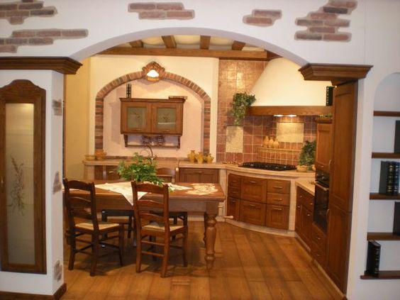 Cucina verona and group on pinterest - Cucine particolari in muratura ...