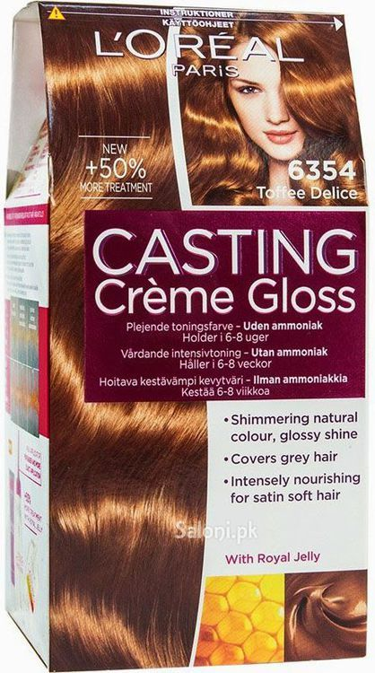 loreal paris casting creme gloss is no ammonia hair color with visible sparkling tendencies its a fine product from loreal that carefully blends - Coloration L Oreal Caramel