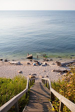 67 Steps Beach in Greenport. This is my favorite beach to go to when we go home to visit.