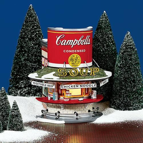 Dept 56 Christmas 2021 Campbell S Soup Counter In 2021 Christmas Village Collections Christmas Village Display Dept 56 Snow Village