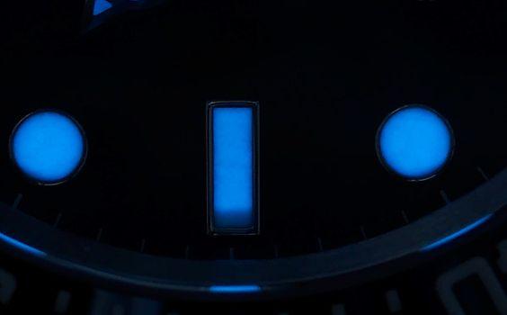 ROLEX - CHROMALIGHT-Hour Markers