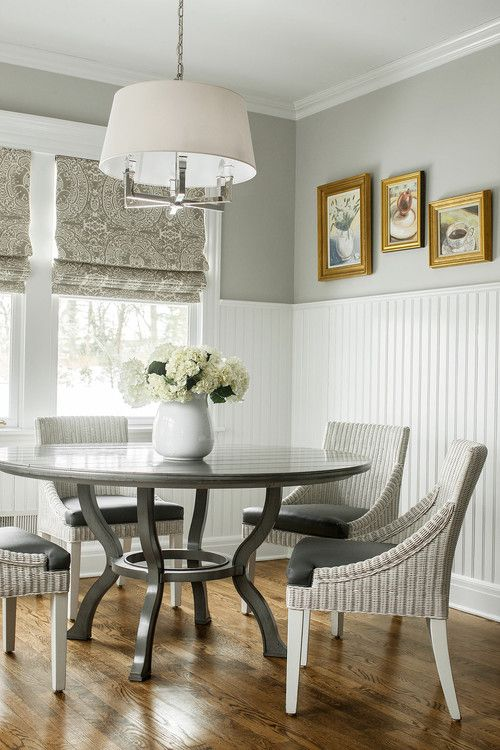 Create Character With Bead Board Town Country Living Dining Room Wainscoting Dining Room Design Home Decor