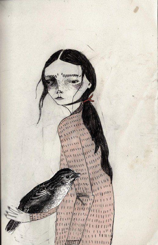 Chicas con los corazones rotos y con hermosos vestidos, por KT Smail - Cultura…