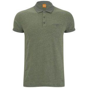 BOSS Orange Men's Pepin Jersey - Medium Green