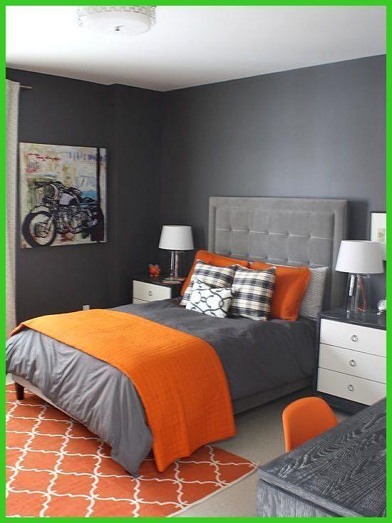 Ideen F Schlafzimmer Orange