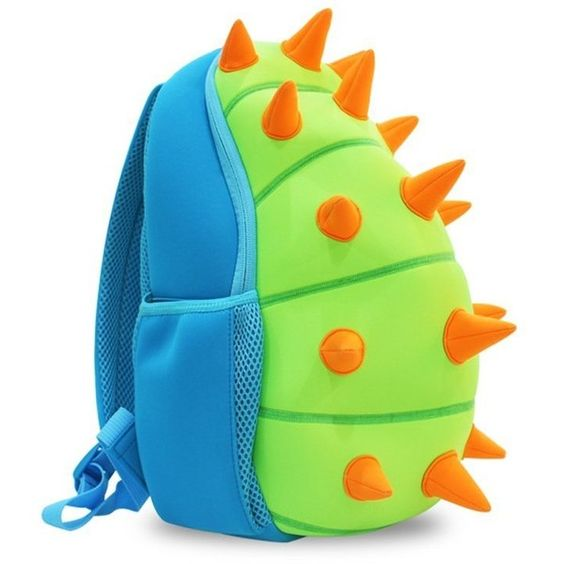 Amazon.com | Nohoo Waterproof Kids Backpack 3D Dinosaur Cartoon School... ($22) ❤ liked on Polyvore featuring bags