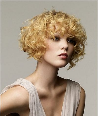 Wavy Bob Hairstyles Without Bangs : Short curly hair without bangs u2013 world stylish hairstyles photo blog