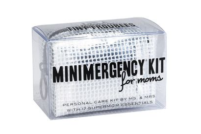 Minimergency® Kit for Moms -- I think I already have all this stuff, just need to put it together in a kit!