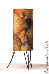 Luminária com filtro de Café - Artesanato na Rede