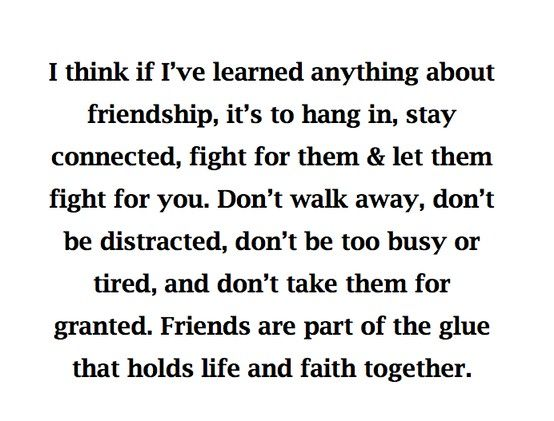 friendship friendship friendship....people need to rethink their views on this definition