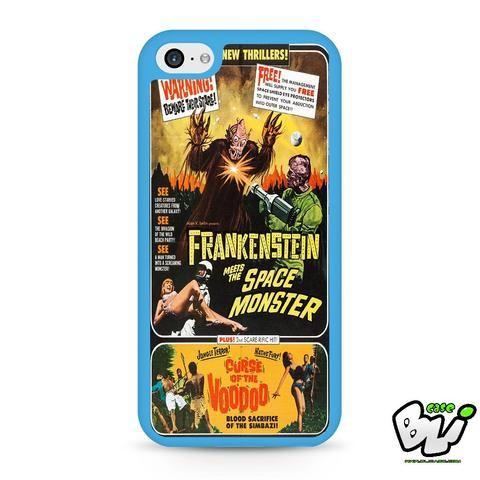 Frankenstein Meets The Spacemonster iPhone 5C Case