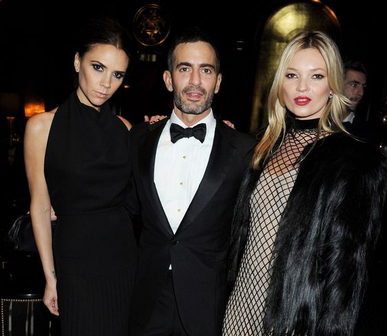 Victoria Beckham, Marc Jacobs & Kate Moss at the British Fashion Awards 2011 in London (28/11/2011). PUNK