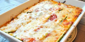 Even the kids love this low carb modification to your traditional lasagna!  Each serving provides 20 grams of protein and just 12 effective carbs. Enjoy!