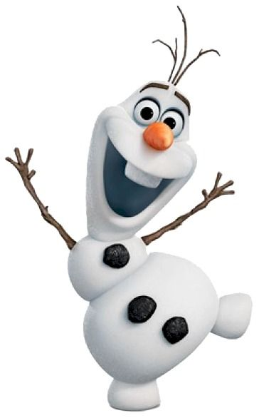 "Olaf is one of those characters you can't help but laugh at - "" I don't have a skull"":"