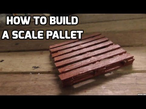 Rc 4x4 Trucks How To Build A Scale Pallet 1 10 Scale Crawler Rc