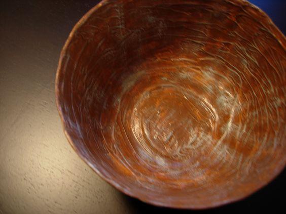 Paper Mache Bowl