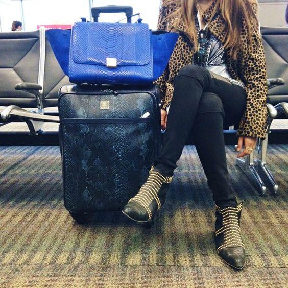 トラベル・スタイル:インスタグラムで撮った空港コーデ | FashionLovers.biz