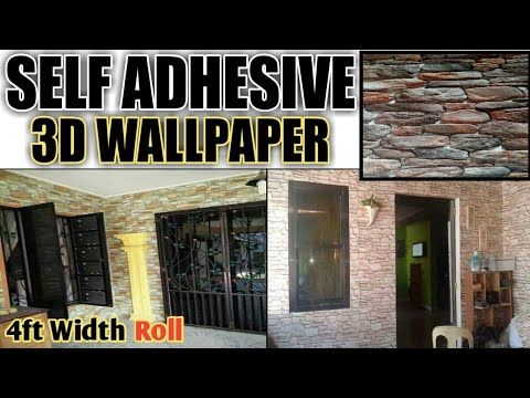 Self Adhesive Wallpaper Installation Mughal Interior Youtube How To Install Wallpaper Self Adhesive Wallpaper Wallpaper