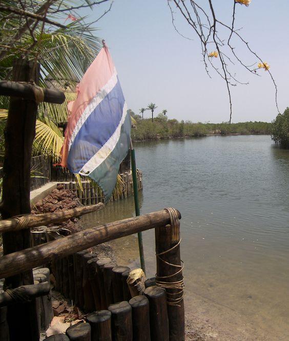 Madina Bolong (river) at Makasutu Cultural Forest, The Gambia (@Brimstone Dreams)