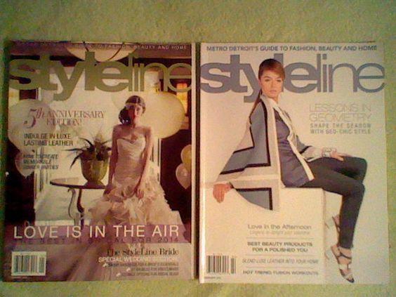 Styleline Magazine Lot Metro Detroit's Guide to Fashion,Beauty,Home + BONUS