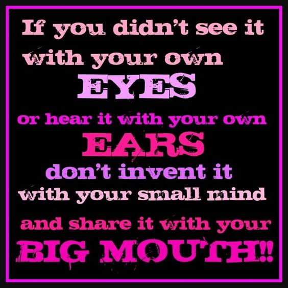 If you didnt see it with your own eyes life quotes quotes quote life quote advice wise quotes