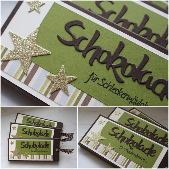 Steffi´s Stempelkeller : Weihnachtliche Zieh-Schoki