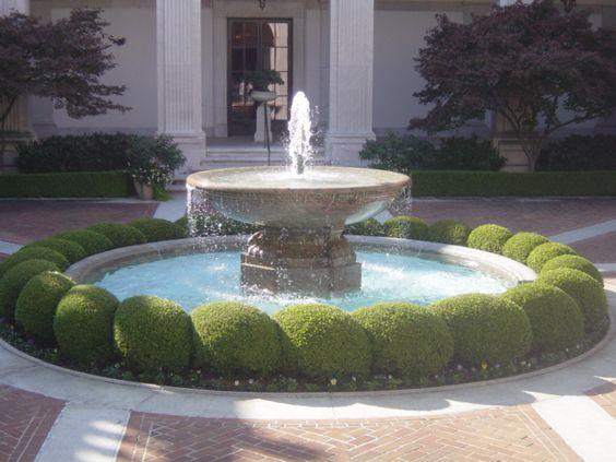 Courtyard Fountains   Unique Courtyard Fountains   Pond  Fountain World Blog