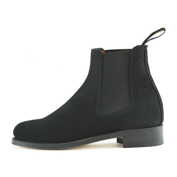 Marlowe handmade chelsea boot for women by Dukes