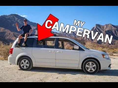 Turn Your Minivan Into A Campervan My Dodge Caravan With Solar