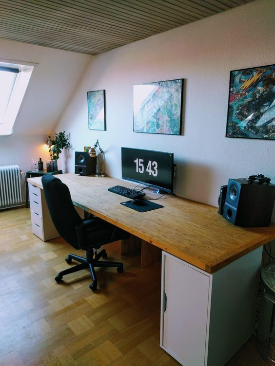 21 Epic Gaming Room Decoration Ideas Fancydecors Game Room Design Home Office Setup Home Office Design