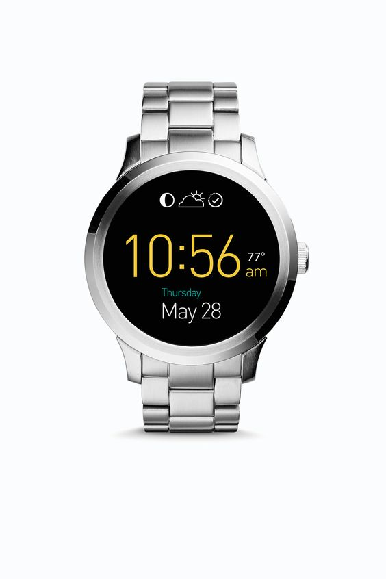 Meet Q Founder, engineered with Intel® Innovation and powered by Android Wear, the newest addition to our connected accessories line. Q Founder tracks your activity, alerts you of notifications and has customizable digital watch faces that are sure to fit your style. Curious for more?