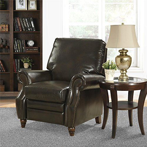 Better Homes And Gardens Faux Leather Accent Chair With Nailheads
