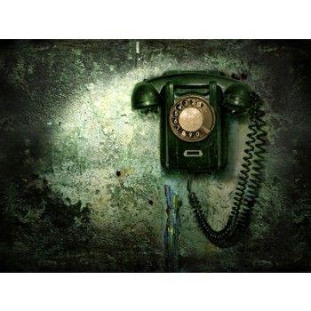 Vlies fotobehang Vintage telefoon