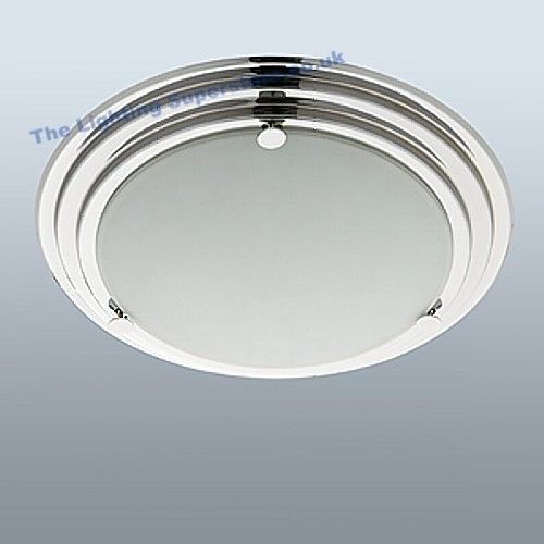 2282cc Ip44 Bathroom Ceiling Light Ip44 Rated Modern Flush Bathroom Fitting Finished In