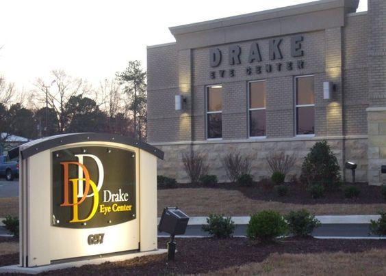 Drake monument sign