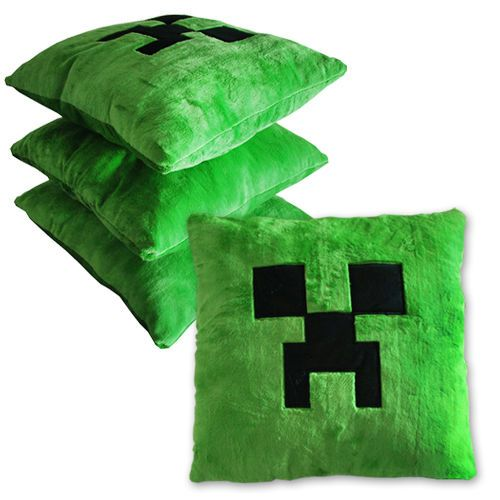 Green Monster Minecraft Creeper Character Soft Toy Stuffed Animal Doll Pillow 778988066850 ...