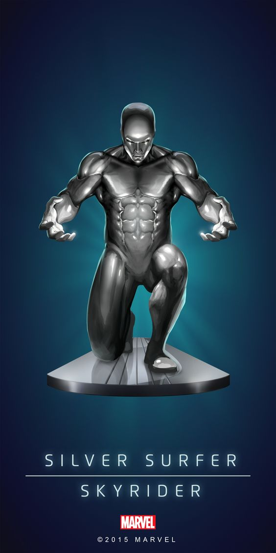 #SIlver #Surfer #Fan #Art. (SILVER SURFER - SKYRIDER IN: MARVEL'S PUZZLE QUEST!) BY: AMADEUS CHO! (THE * 5 * STÅR * ÅWARD * OF: * AW YEAH, IT'S MAJOR ÅWESOMENESS!!!™) [THANK U 4 PINNING!!!<·><]<©>ÅÅÅ+(OB4E)(IT'S THE MOST ADDICTING GAME ON THE PLANET, YOU HAVE BEEN WARNED!!!)