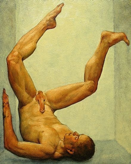 Ron Griswold, Figure Study..052311.2 Oil on Panel 10 x 8