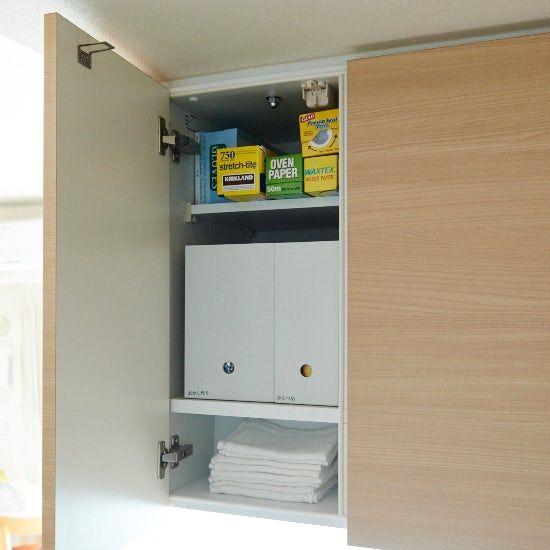 吊り戸棚 はもっと使える キッチンのすっきり収納4つのコツ