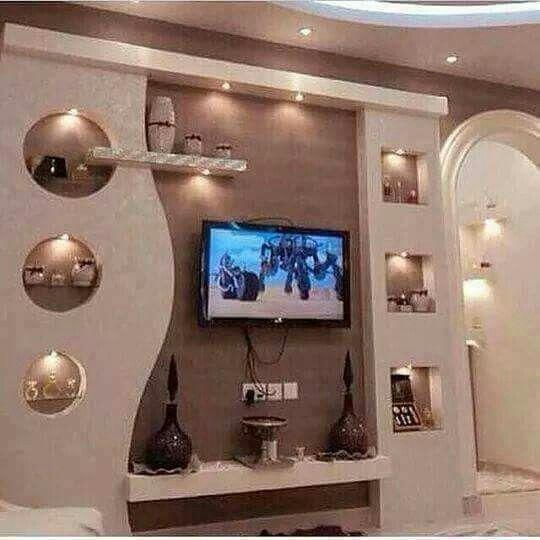 Harun 8950072174 Lcd Wall Design Ceiling Design Living Room Tv Wall Decor
