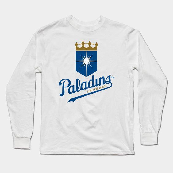 Paladins - Wow Baseball Long Sleeve T-Shirt