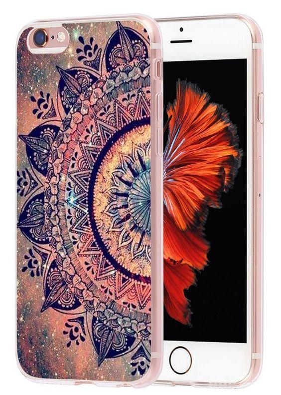 Amazon.com: Iphone 6 Case mandala, Apple Iphone 6S Case wonderful purple mandala design: Cell Phones & Accessories