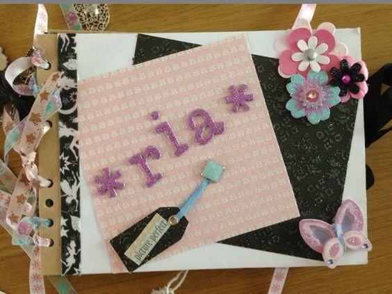 Birthday Keepsake Book - Ria