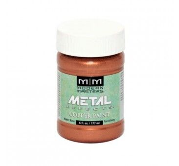 Modern Masters ME149-06 Metal Effects Reactive Metallic Paint, Copper, 6Oz.