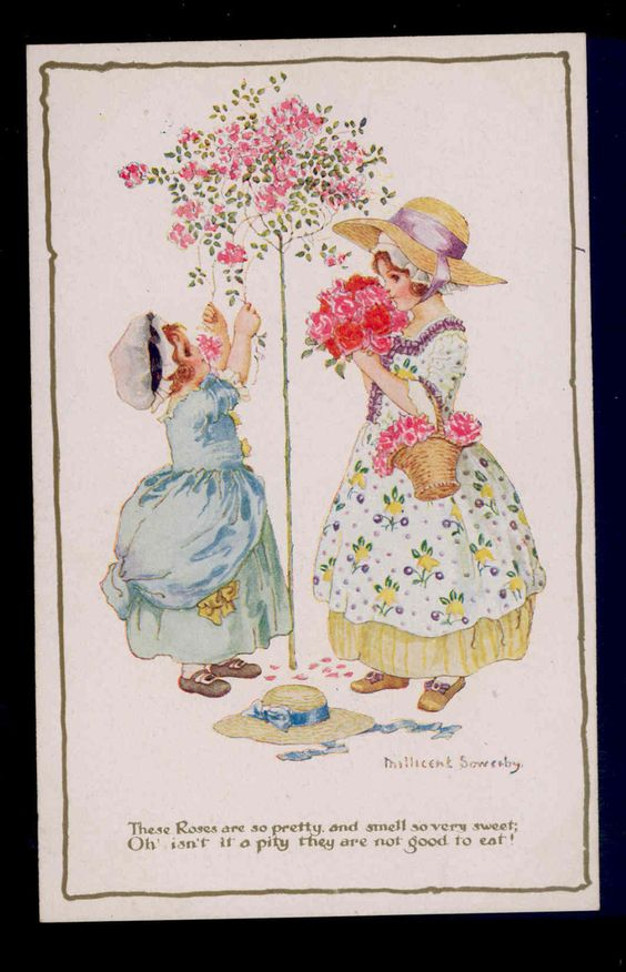 Millicent Sowerby postcard: