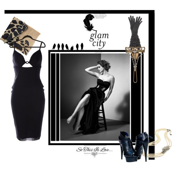 """Dark Moon, Night outfit"" by sdiana-1 on Polyvore"