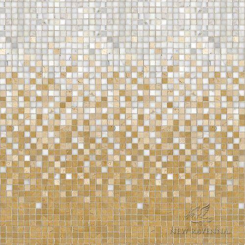 Gold Marble Mosaic New Ravenna Stone Mosaic Floor Ravenna Mosaics Mosaic Flooring