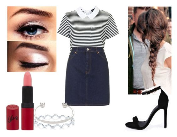 """""""Preppy"""" by abbeyy08 ❤ liked on Polyvore featuring Topshop, Boohoo, Rimmel, BERRICLE and ASOS"""